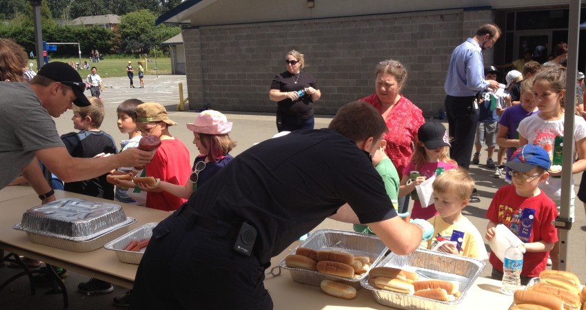 VRFD bbqing on Fun Day