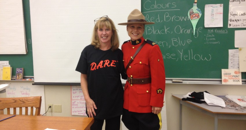 DARE Program – Cst. Rutledge & Mrs. MacDonald