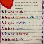 Div 7 – Friendship Writing