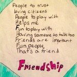 Div 1 – Friendship Writing