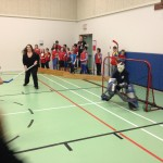 Floor Hockey – RCMP & Staff vs Grade 5 Students
