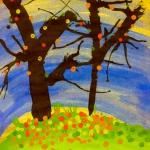 Div 3 – Watercolor Landscape