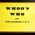 Div 4 & 9 – Whoo's Who