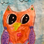 Div 4 – Watercolour Owls